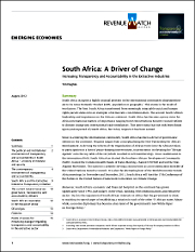 South Africa TAI report